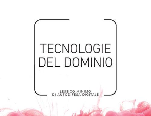 TECNOLOGIE DEL DOMINIO