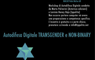 autodifesa digitale transgender non-binary