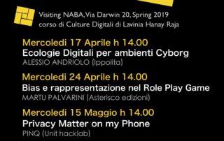 Visiting naba 2019 Culture Digitali