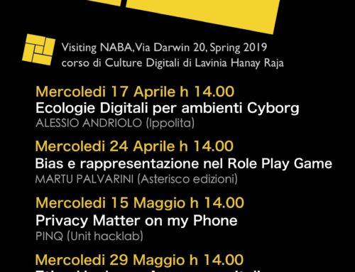Visiting Naba primavera 2019
