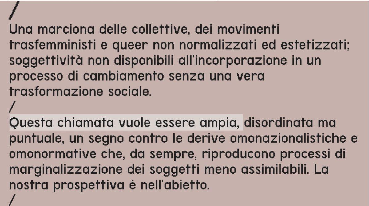 Ippolita @Marciona queer 2020 Milano