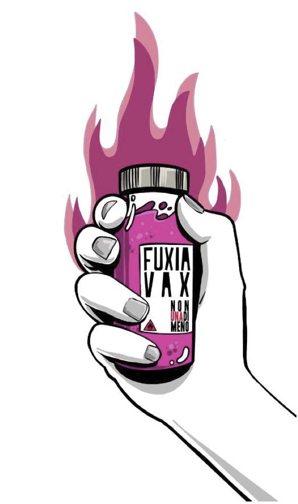 8 marzo fuxia vax